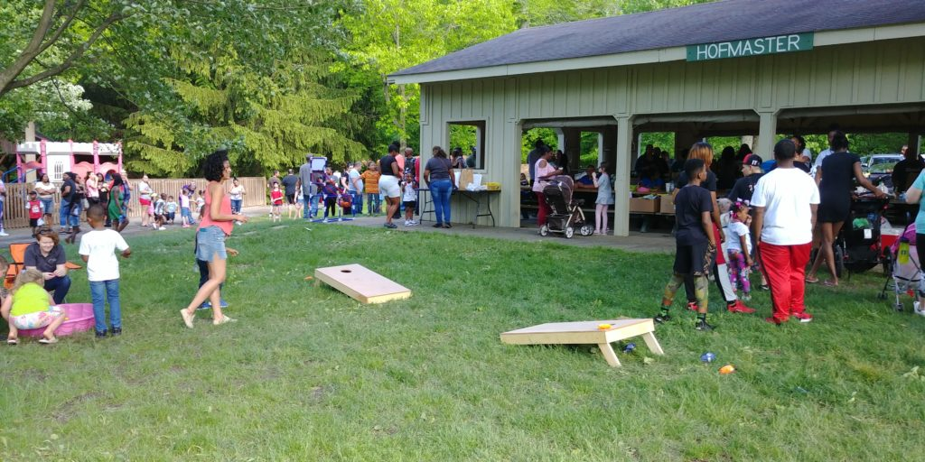 Attendees at recent Alta Head Start outdoor carnival